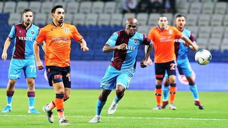 Trabzonspor ile Başakşehir yenişemedi: 1-1