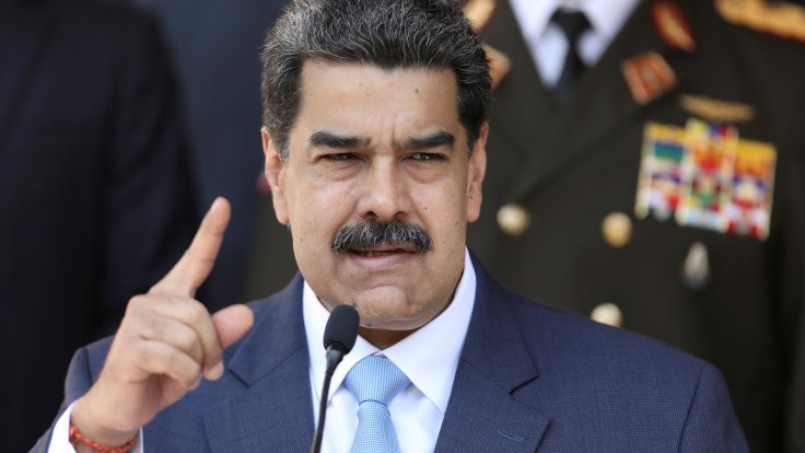 Maduro: Sen sefil birisin Trump