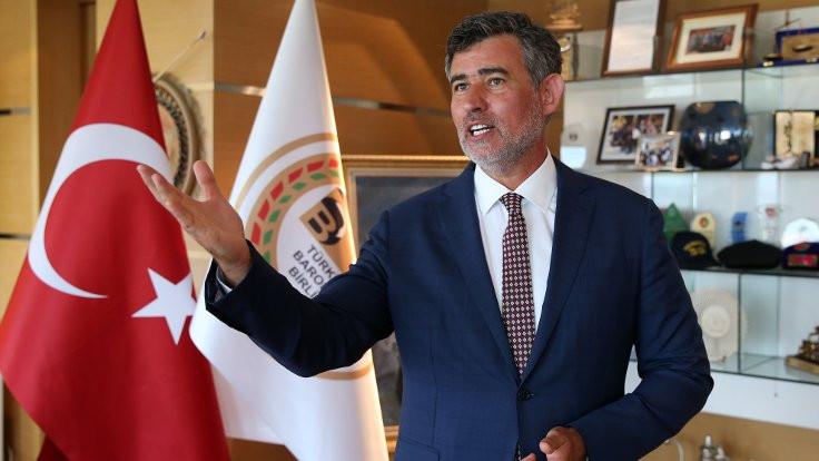 Durakoğlu: Baro teklifinin yazıcısı Feyzioğlu'dur