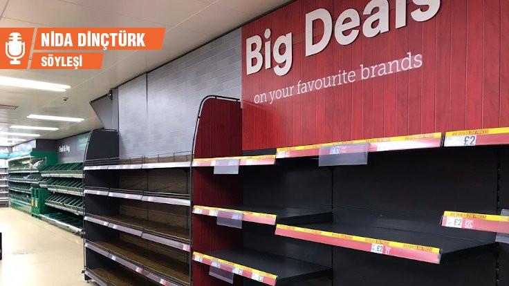 İngiltere'deki boş market rafları bize ne söylüyor?