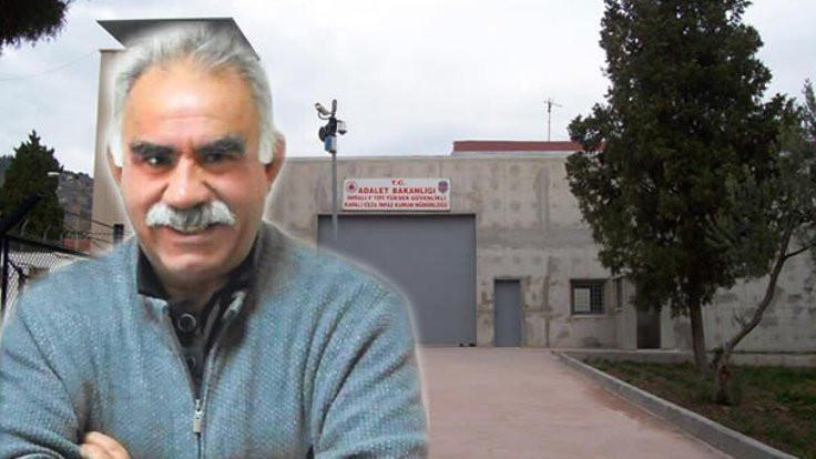 'Öcalan'ı ziyaret izni yangın yüzünden verildi'