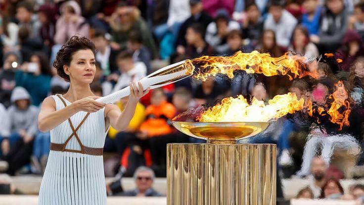 Tarihinde ilk: Olimpiyat ateşi seyircisiz yakılacak