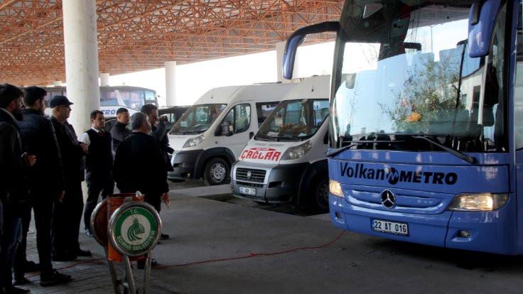 Otobüs bileti talebi yüzde 646 yükseldi