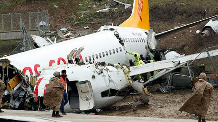 'Strese giren pilotlar fren yapmakta gecikti'