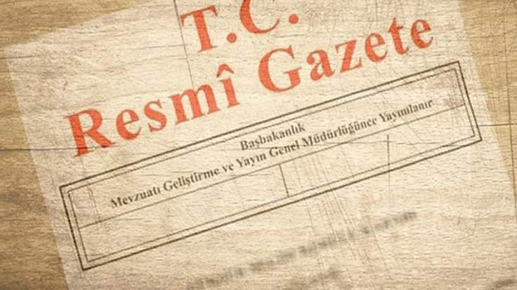 Atama kararları Resmi Gazete'de