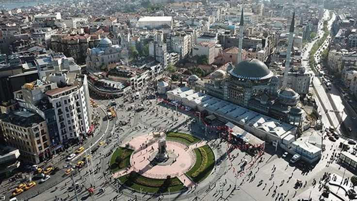 Taksim için 50 bin euroluk yarışma