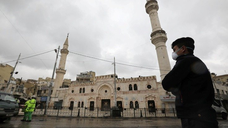 Ürdün'de sokağa çıkma yasağı ilan edildi