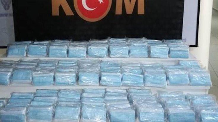 7 bin kaçak maske yakalandı