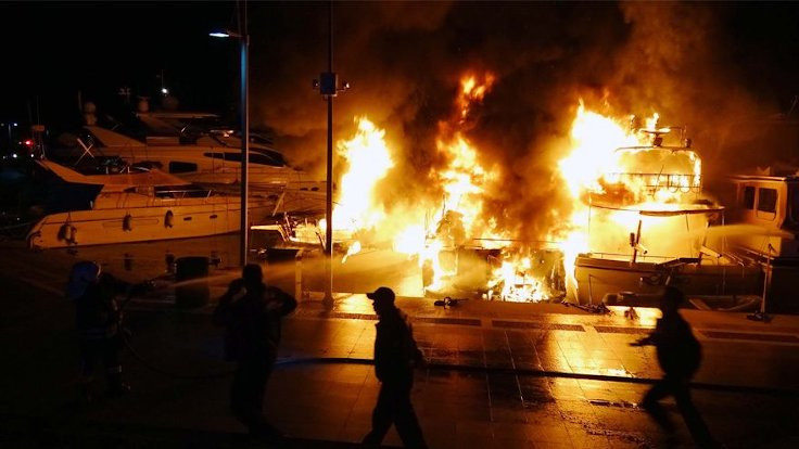 Silivri'de yat yangını: İki ölü, üç yaralı