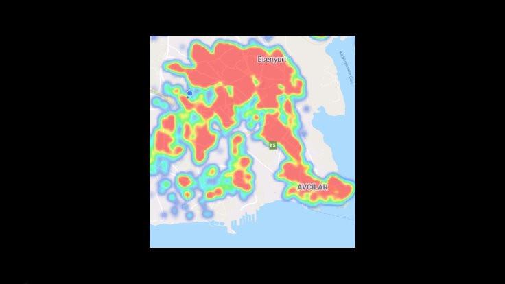 İstanbul'da ilçe ilçe korona yoğunluk haritası - Sayfa 4