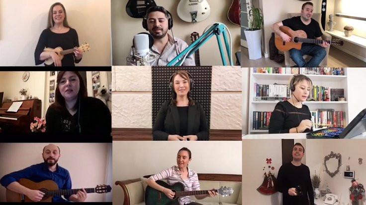Müzik öğretmenlerinden EBA şarkısı
