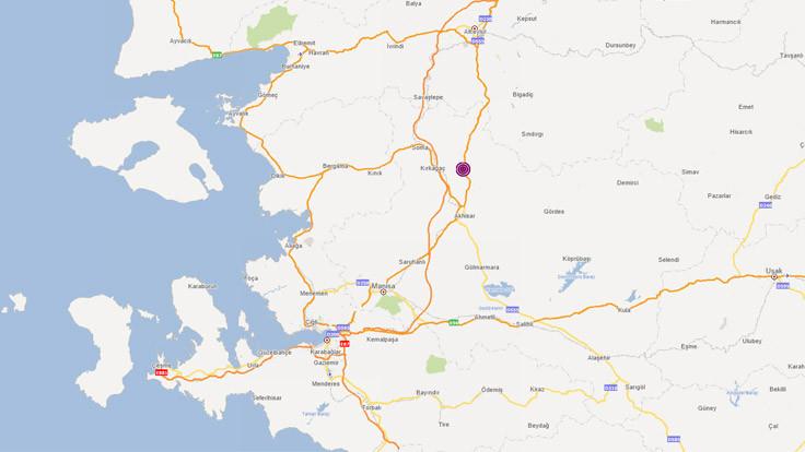 Manisa'da 4.3'lük deprem