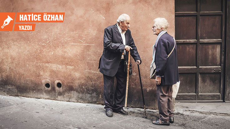 Korona günlerinde yaşlı olmak!