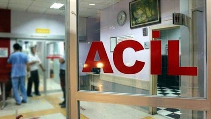 Trabzon'da hasta yakını oksijen tüpüyle sağlıkçılara saldırdı