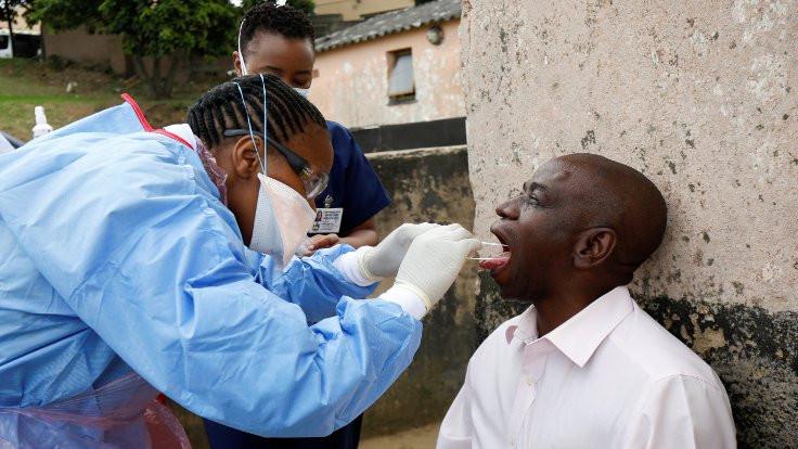 Afrika'da vaka sayısı 1 milyon 230 bini aştı
