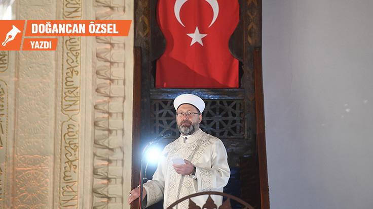Ali Erbaş'ın 'yanlız' olmayışı