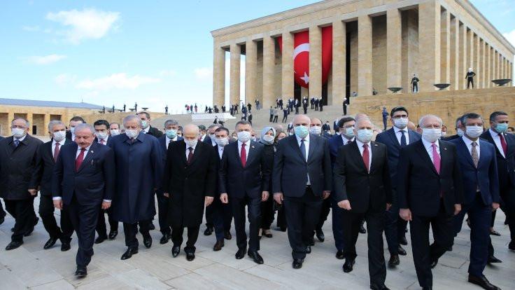 Ankara'da 'maskeli' 23 Nisan kutlaması