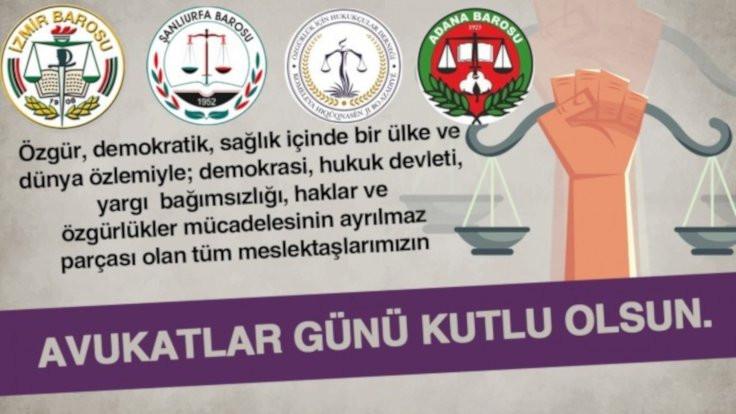 Avukatlar Günü: Yeni anayasaya ihtiyaç var