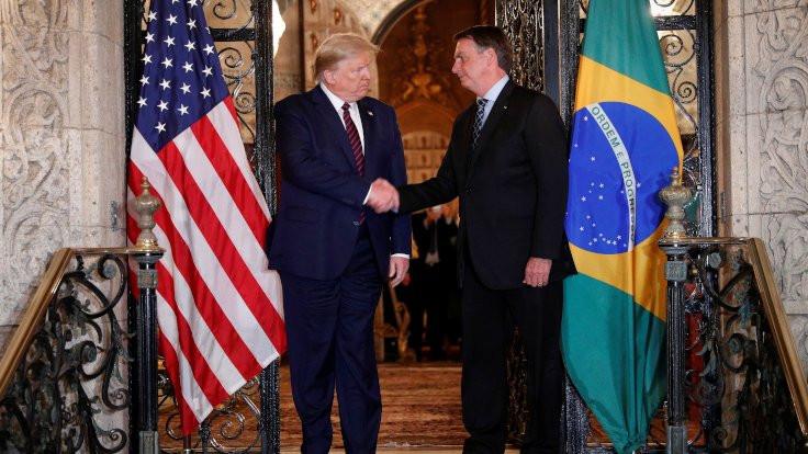 Korona virüsü Trump ve Bolsonaro'yu utandırdı