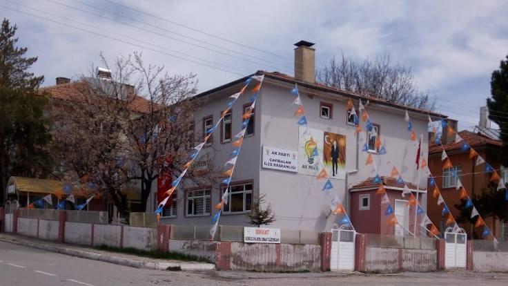 'PTT binası AKP'ye tahsis edildi'
