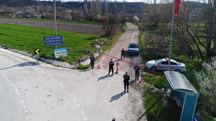 3 ilde, 2 mahalle ve 1 köy karantinaya alındı