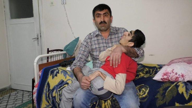 İşsiz baba hasta oğlu için destek bekliyor
