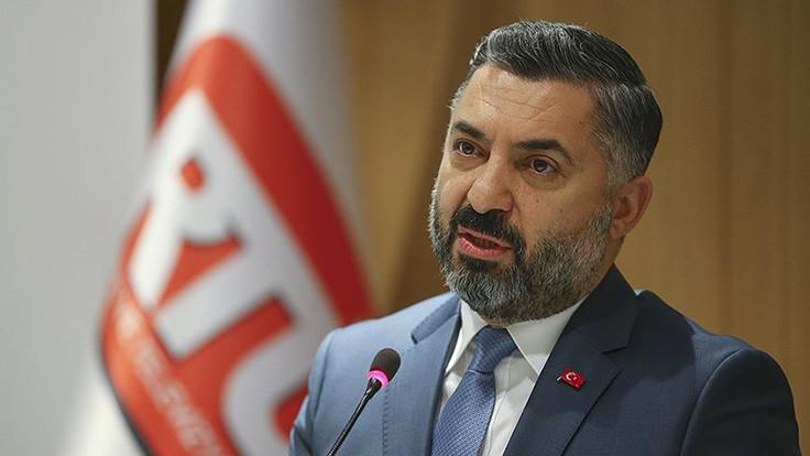 RTÜK Başkanı Şahin kararı mahkemeye taşındı