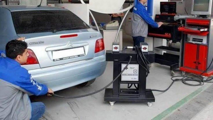 Egzoz gazı emisyonu ölçümü ertelendi