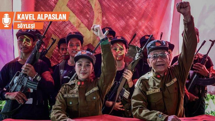 Komünist gerillalar korona ile savaşıyor