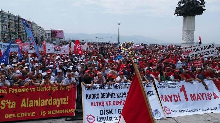 İzmir'de 1 Mayıs başvurusuna ret