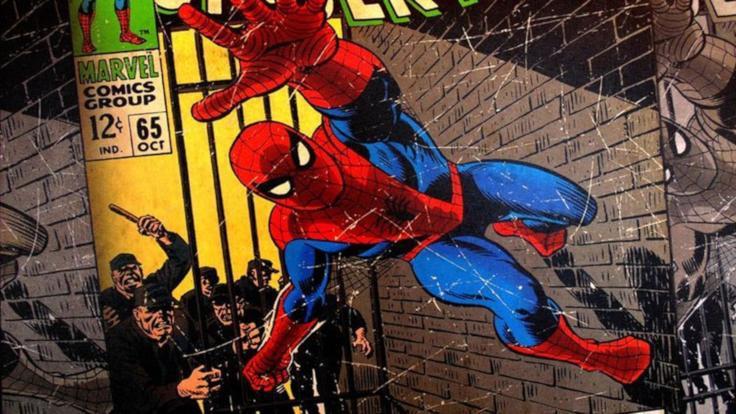 Spiderman'de 'korona' detayı