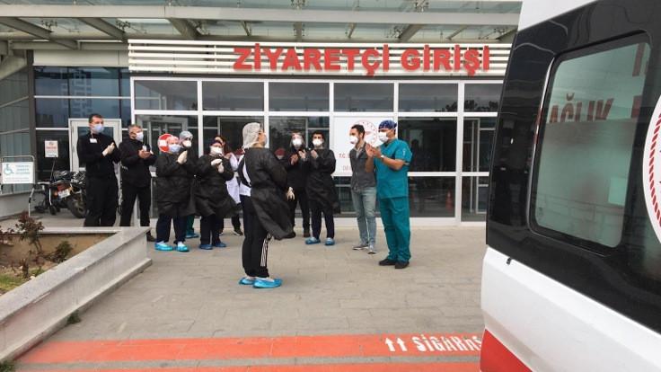 Kırklareli'deki ilk korona virüsü hastası taburcu edildi