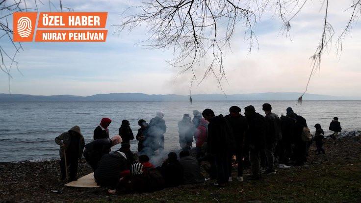 Mülteciler kamplardan sahillere taşınıyor