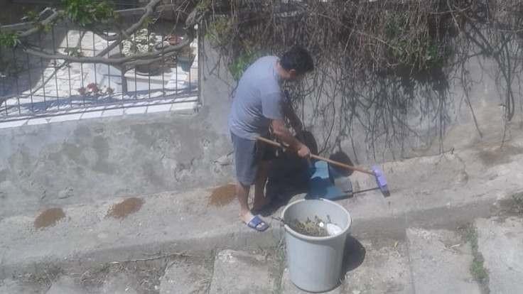 Mamaları çöpe atan kişiye ceza