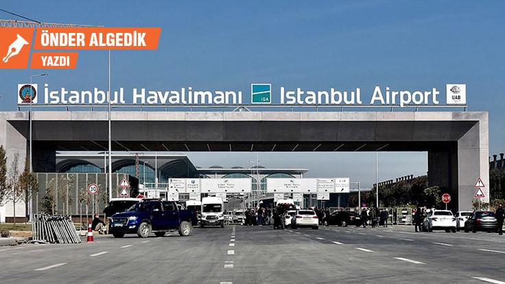 Covid-19 giriş kapısı İstanbul Havalimanı
