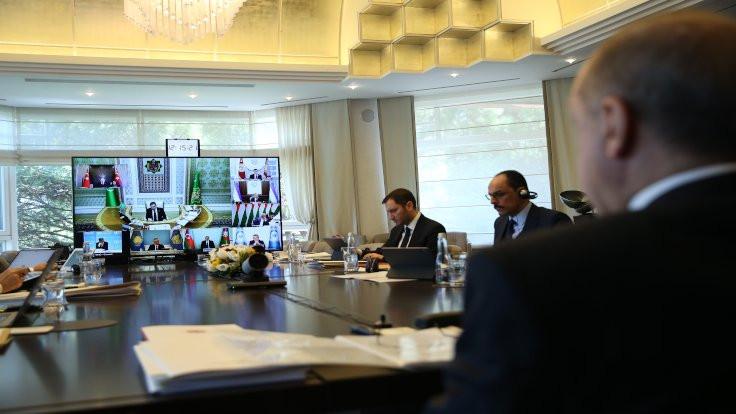 Erdoğan: Salgın sonrasına hazırlık yapmalıyız