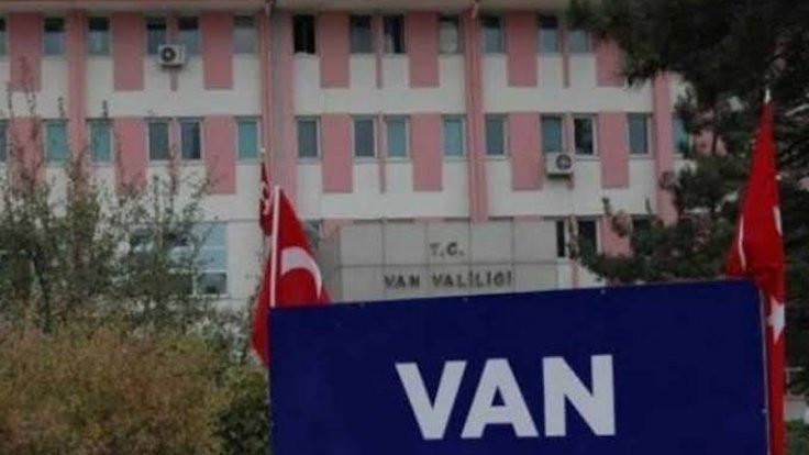 Van'da eylem yasağı uzatıldı