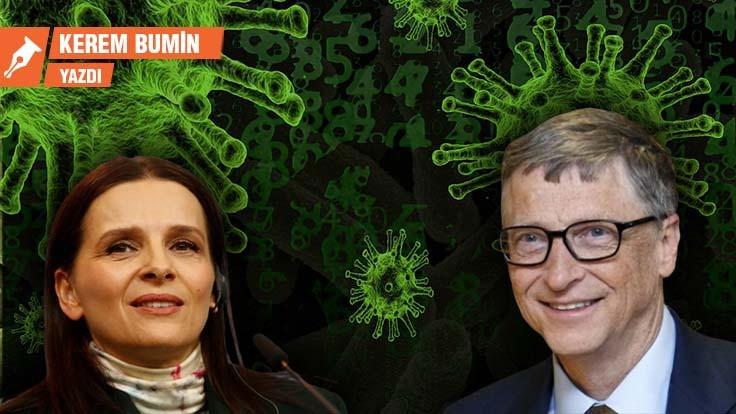 Juliette Binoche, korona virüsü ve Bill Gates!