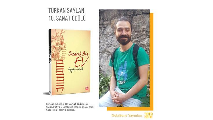 Türkan Saylan Sanat Ödülü Özgür Çırak'ın