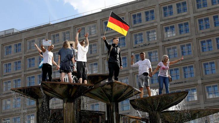 Almanya'da bulaşma oranı yine 1'in üzerine çıktı