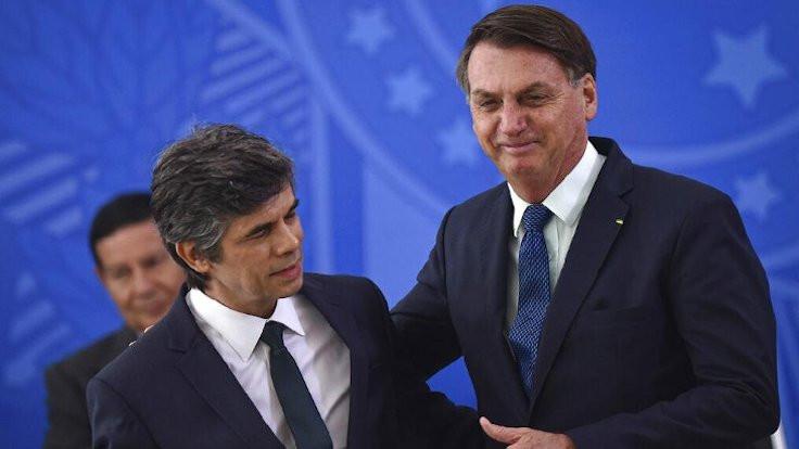 Brezilya'da Sağlık Bakanı 1 ay dayanabildi