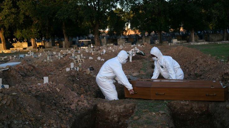 Latin Amerika'da ölü sayısı 200 bini geçti
