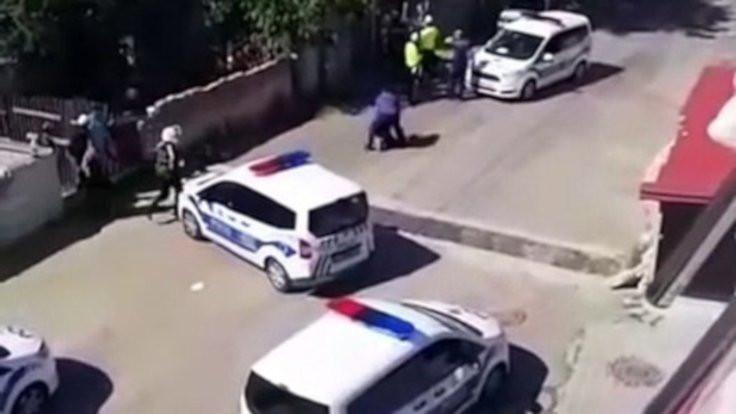 Çorlu'da polis şiddeti kameraya yansıdı