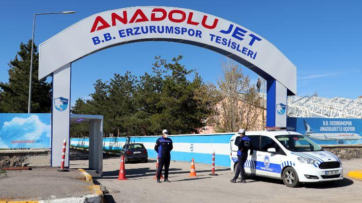 Erzurumspor'da 72 kişi karantinaya alındı