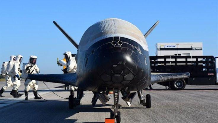 ABD'nin 'gizemli' uzay aracı yörüngede