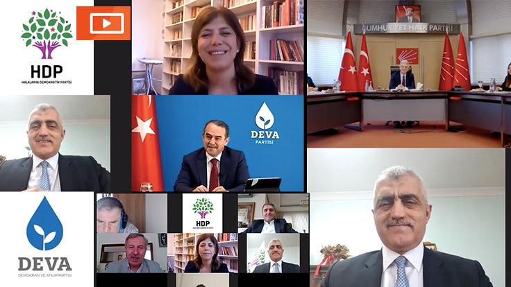 HDP; CHP, DEVA ve Gelecek Partisi ile bayramlaştı