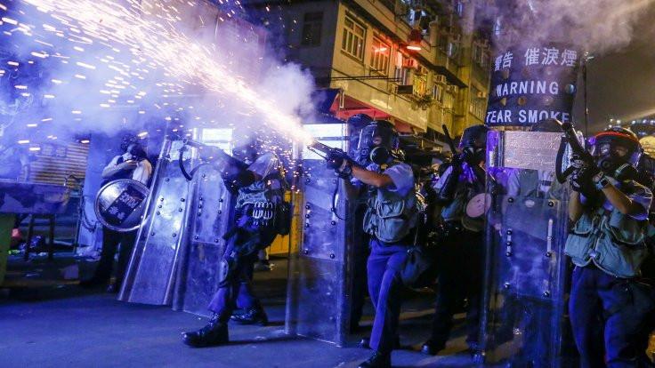 Hong Kong'da 'biber gazı aromalı' dondurma