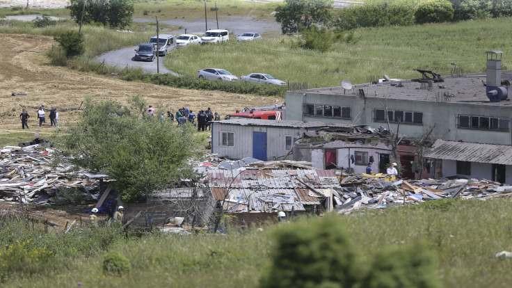 Fabrikada patlama: 2 işçi öldü, 2 işçi enkaz altında