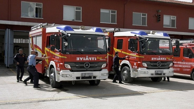 Kara Dikimevi'nde yangın