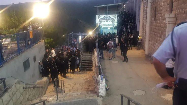 Yahudi festivalinde 320 kişi gözaltında